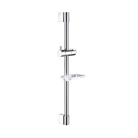 Штанга для душа WasserKRAFT A063 66,5 см с мыльницей