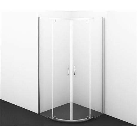 Душевой уголок WasserKRAFT Leine 35P01 90х90х200 см, с распашными дверьми