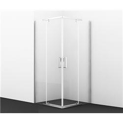 Душевой уголок WasserKRAFT Leine 35P03 90х90х200 см, с распашными дверьми