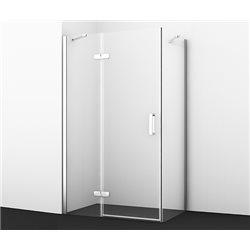 Душевой уголок WasserKRAFT Aller 10H06L 120х80х200 см, с распашными дверьми (петли слева)