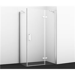 Душевой уголок WasserKRAFT Aller 10H06R 120х80х200 см, с распашными дверьми (петли справа)