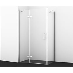 Душевой уголок WasserKRAFT Aller 10H07L 120х90х200 см, с распашными дверьми (петли слева)