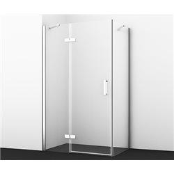 Душевой уголок WasserKRAFT Aller WHITE 10H06LW 120х80х200 см, с распашными дверьми (петли слева)