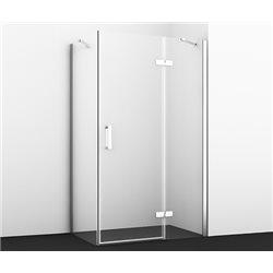 Душевой уголок WasserKRAFT Aller WHITE 10H06RW 120х80х200 см, с распашными дверьми (петли справа)