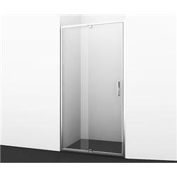 Душевая дверь WasserKRAFT Berkel 48P05 120 см (115-125 см), распашная