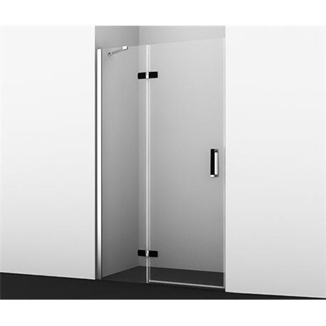 Душевая дверь WasserKRAFT Aller BLACK 10H05LB 120 см, распашная (петли слева)