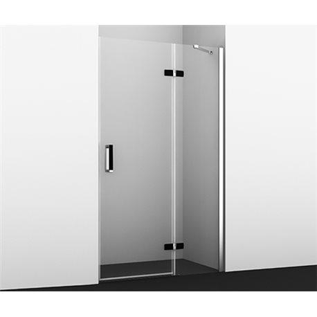 Душевая дверь WasserKRAFT Aller BLACK 10H05RB 120 см, распашная (петли справа)