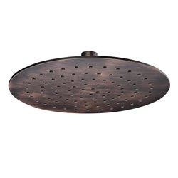 Верхний душ WasserKRAFT A115 круглый 229 мм, темная бронза