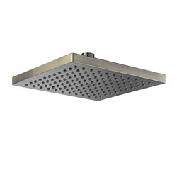 Верхний душ WasserKRAFT A140 квадратный 200х200 мм, светлая бронза