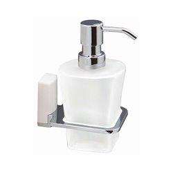 Дозатор жидкого мыла навесной WasserKRAFT Leine K-5099WHEITE