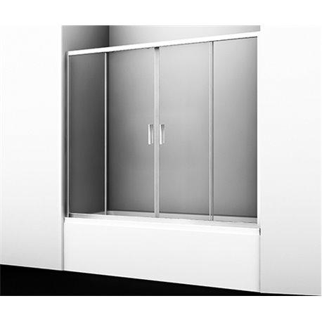Шторка на ванну WasserKRAFT Lippe 45S02 170 см