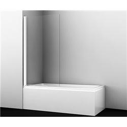 Шторка на ванну WasserKRAFT Berkel 48P01-80 WHITE ширина 80 см