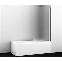 Шторка на ванну WasserKRAFT Berkel 48P01-80 Matt glass ширина 80 см