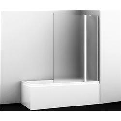 Шторка на ванну WasserKRAFT Berkel 48P02-110 Matt glass ширина 110 см