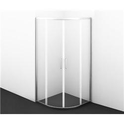 Душевой уголок WasserKRAFT Main 41S23 100x100x200 см, с раздвижными дверьми