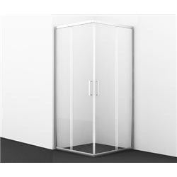 Душевой уголок WasserKRAFT Main 41S03 Matt glass 90x90x200 см, с раздвижными дверьми