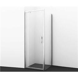 Душевой уголок WasserKRAFT Berkel 48P28 80x90x200 см, с распашными дверьми