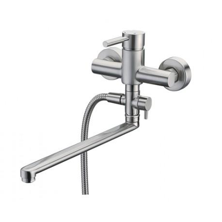 Смеситель Wasser KRAFT Wern 4202L для ванны с длинным изливом