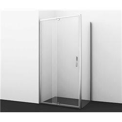 Душевой уголок WasserKRAFT Berkel 48P15 110x90x200 см, с распашными дверьми