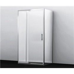 Душевой уголок П-образный WasserKRAFT Berkel 48P25 120x80x200 см, с распашными дверьми