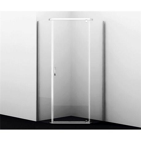 Душевой уголок WasserKRAFT Leine 35P11 90x90x200 см, с распашной дверью