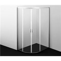 Душевой уголок WasserKRAFT Lippe 45S24 120x90x190 см, с раздвижными дверьми