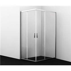 Душевой уголок прямоугольный WasserKRAFT Lippe 45S07 120x90x190 см, с раздвижными дверьми