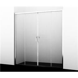 Душевая дверь WasserKRAFT Lippe 45S08 150 см, раздвижная