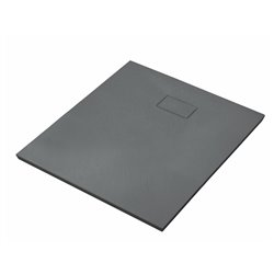 Душевой поддон WasserKRAFT Elbe 74T03, квадратный 90x90x2,6 см, черный