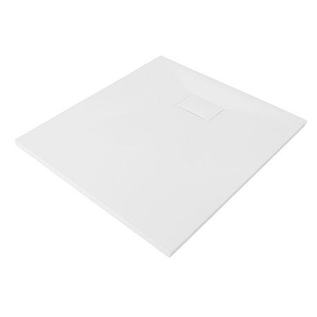Душевой поддон WasserKRAFT Main 41T03, квадратный 90x90x2,6 см, белый