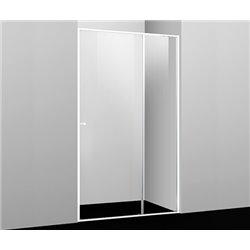 Душевая дверь WasserKRAFT Rhin 44S12 100 см, раздвижная, профиль белый