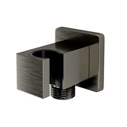 Подключение шланга с настенным держателем для лейки WasserKRAFT A186 квадратное