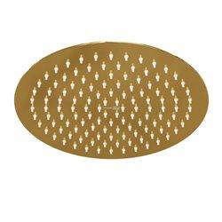 Верхний душ WasserKRAFT A208 круглый 248 мм, золото глянец