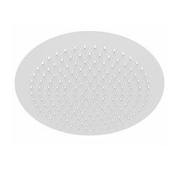Верхний душ WasserKRAFT A161 круглый 300 мм, белый матовый