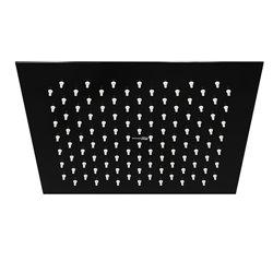 Верхний душ WasserKRAFT A199 квадратный 250х250 мм черный глянец