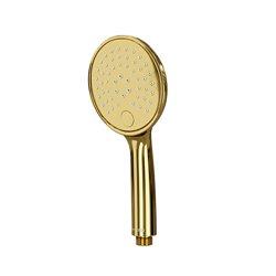 Лейка душевая WasserKRAFT A207 3-функциональная глянцевое золото