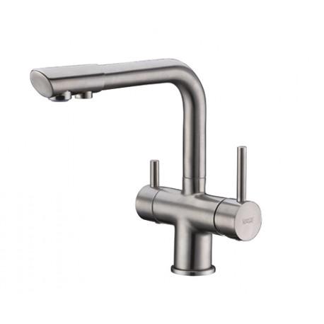 Смеситель Wasser KRAFT A8027 для кухни с подкуючением фильтра