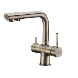 Смеситель Wasser KRAFT A8037 для кухни с подкуючением фильтра