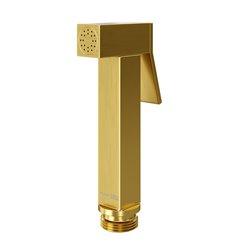 Гигиеническая лейка WasserKRAFT A213 квадратная, матовое золото
