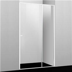 Душевая дверь WasserKRAFT Rhin 44S13 110 см, раздвижная, профиль белый