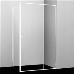 Душевой уголок прямоугольный WasserKRAFT Rhin 44S16 110x100x200 см, раздвижная дверь, белый профиль