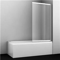 Шторка на ванну WasserKRAFT Main 41S02-100 Matt glass ширина 100 см