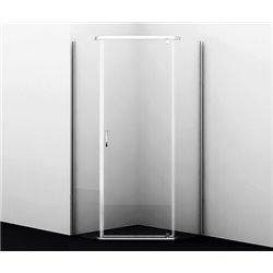 Душевой уголок пятиугольный WasserKRAFT Leine 35P38 100x100x200 см, с распашной дверью