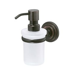 Дозатор жидкого мыла навесной Wasser KRAFT Isar K-7399