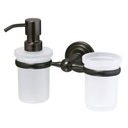 Держатель дозатора и стакана Wasser KRAFT Isar K-7389
