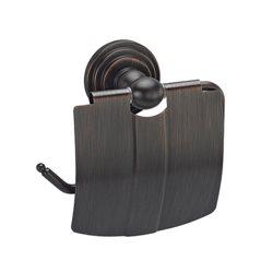 Держатель туалетной бумаги с крышкой Wasser KRAFT Isar K-7325