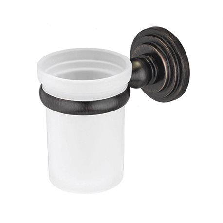 Стакан для зубных щеток керамический Wasser KRAFT Isar K-7328